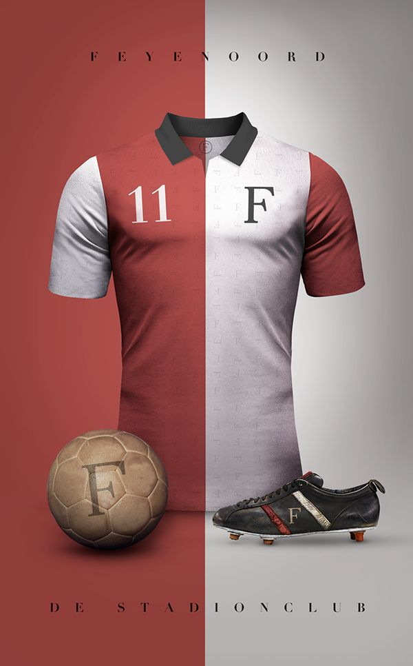 Feyenoord Rotterdam - Vintage clubs on @behance