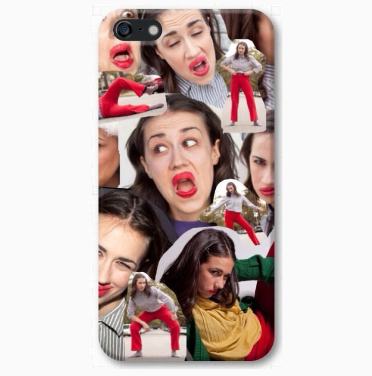 "Get your ""MIRANDA SINGS COLLAGE"" Phone Case Now! Preorders take 2-4 weeks to ship."