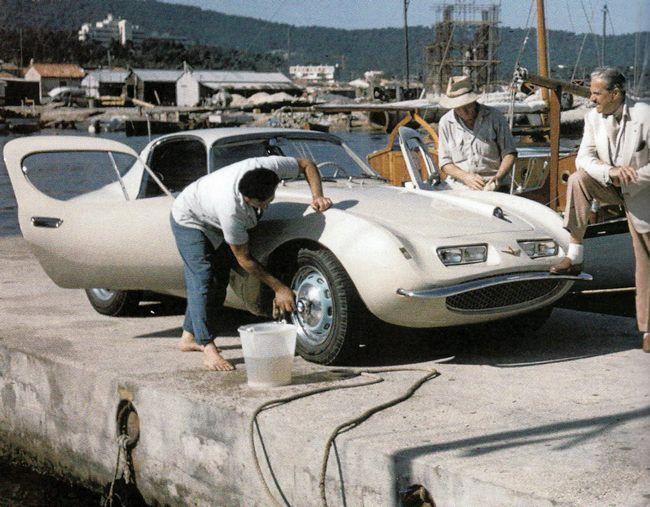 BMW 507 par Raymond Loewy – Réalisée par Pichon-Parat