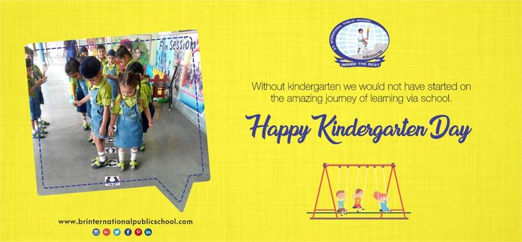 Without kindergarten, we would not have started on the amazing journey of learning via school. Happy Kindergarten Day!  #BRInternationalPublicSchool #CBSE #Kurukshetra #School #Education #HappyKindergartenDay