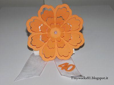"""TinyWorks: Tutorial segnaposto fiore 3D """"Tutorial placeholder..."""