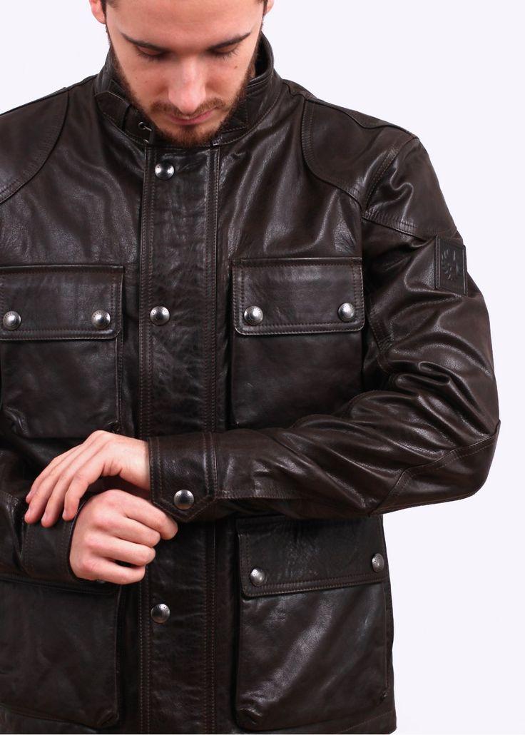 Black Leather Jacket Men