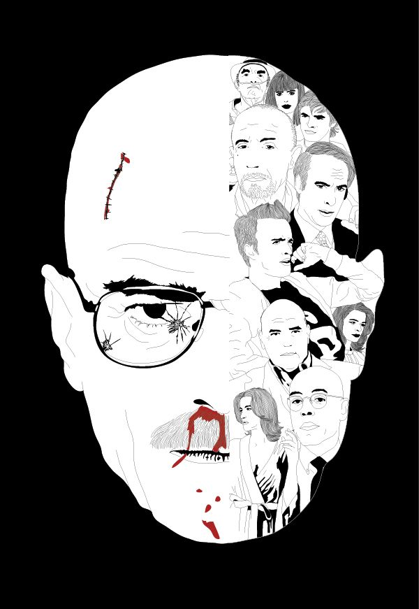 Breaking down Walter White. Made as a tribute to Breaking Bad, in my opinion one of the best tv shows ever made.
