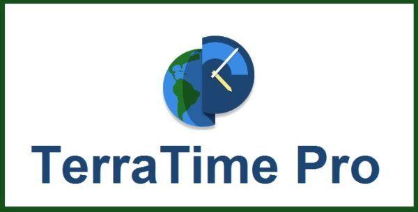TerraTime Pro es la mejor aplicación para monitorear la tierra en tiempo real con todos sus detalles como. nubes, la noche, el sol, las diferentes estaciones de la luna, las luces de las ciudades, y mucho mas, ademas de contar con la hora exacta de cada país y ciudad en el mundo, en definitiva es ta es una app para los seguidores de todo lo relacionado con el funcionamiento del globo terráqueo.