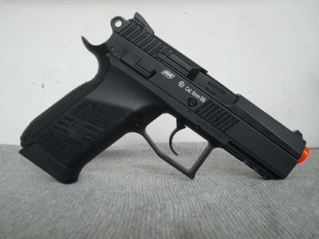 Pick up this Compact CZ 75D GBB Pistol for some intense CQC action.. @AirsoftLegion