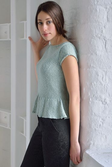 Kim Hargreaves: Spirit Book - peplum sweater