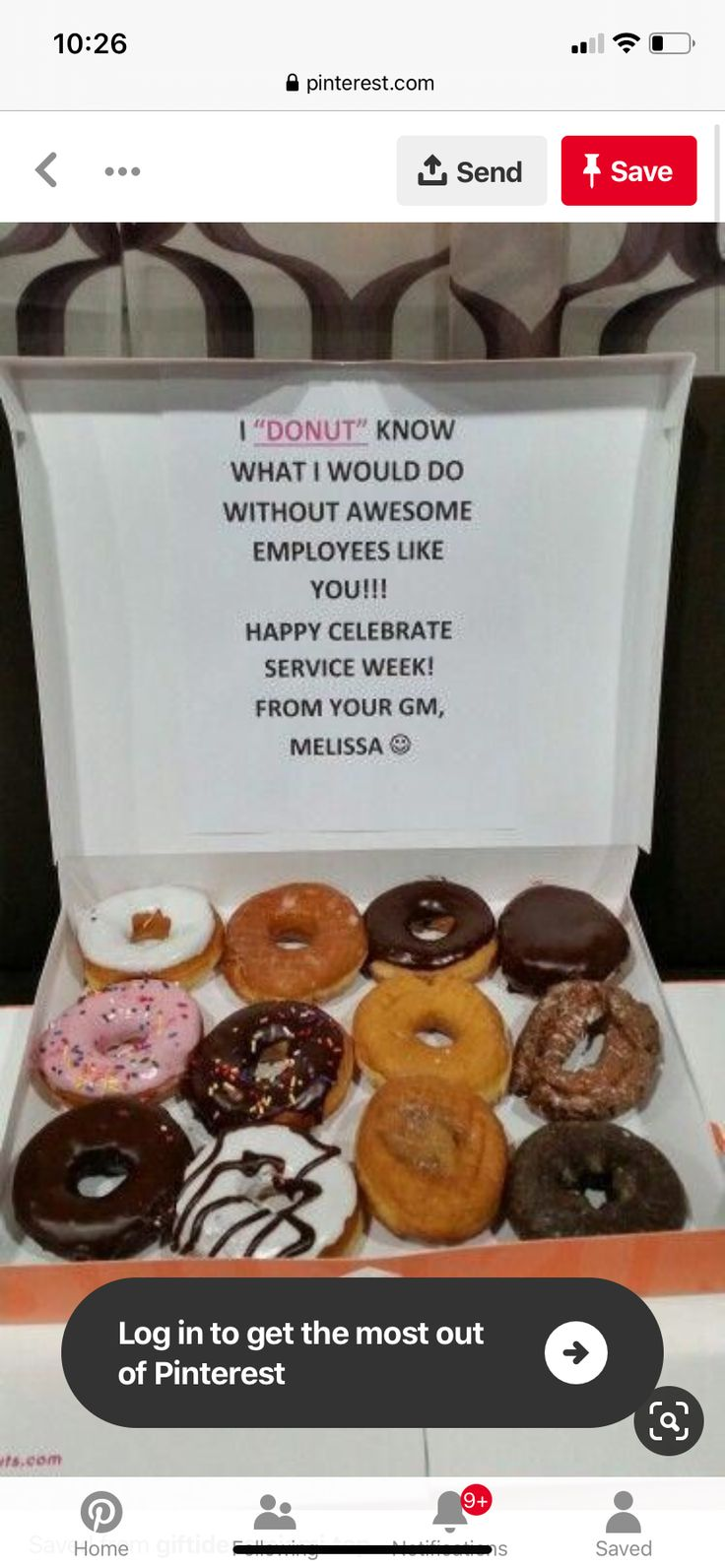 Pin by Amy Miller on Appreciation Food, Donuts, 10 things