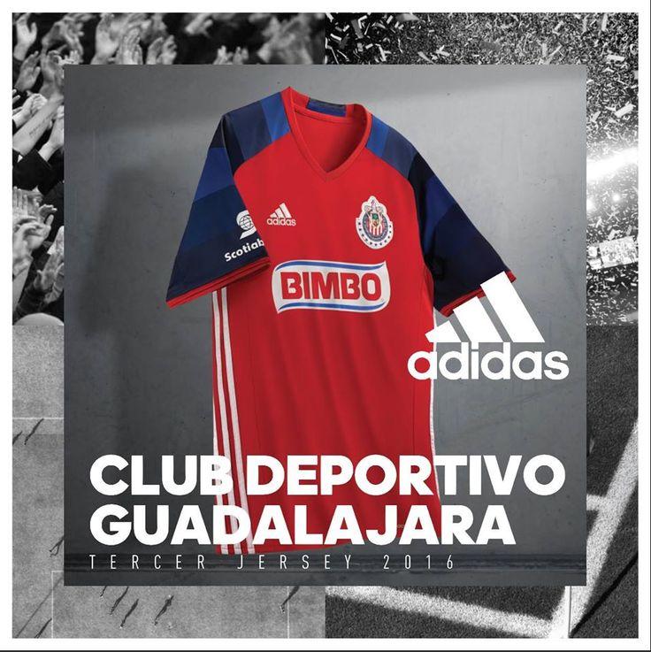 CHIVAS REVELA TERCERA PLAYERA PARA CLAUSURA 2016 El Rebaño dio a conocer su equipación alternativa que será debutada frente a Cruz Azul.