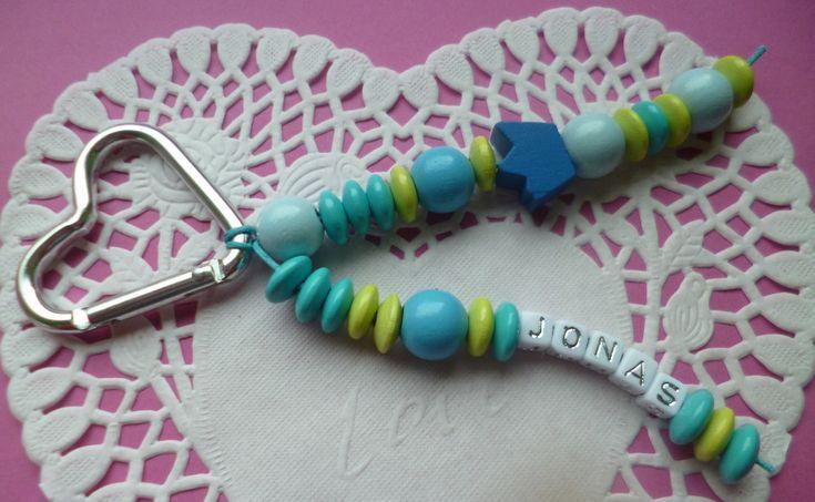 Schlüsselanhänger - Schlüsselanhänger/Anhänger mit Namen - ein Designerstück von Rosettas-Laden bei DaWanda
