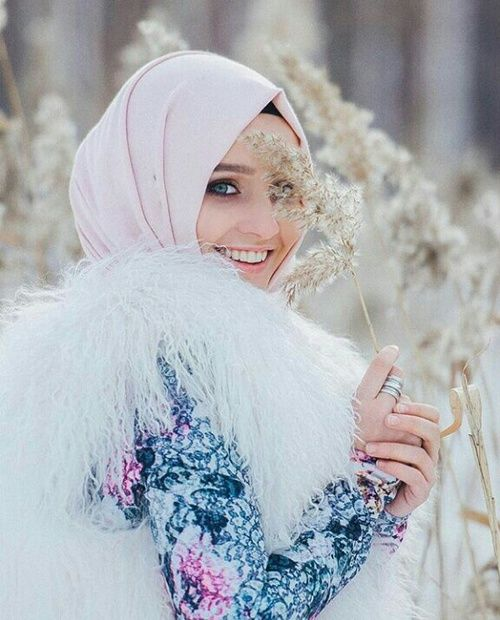 Image de fashion, muslima, and alexandra golovkova