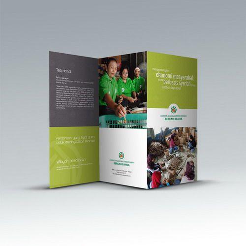 Desain brosur CSR PT. Kalimantan Prima Persada. www.simplestudioonline.com