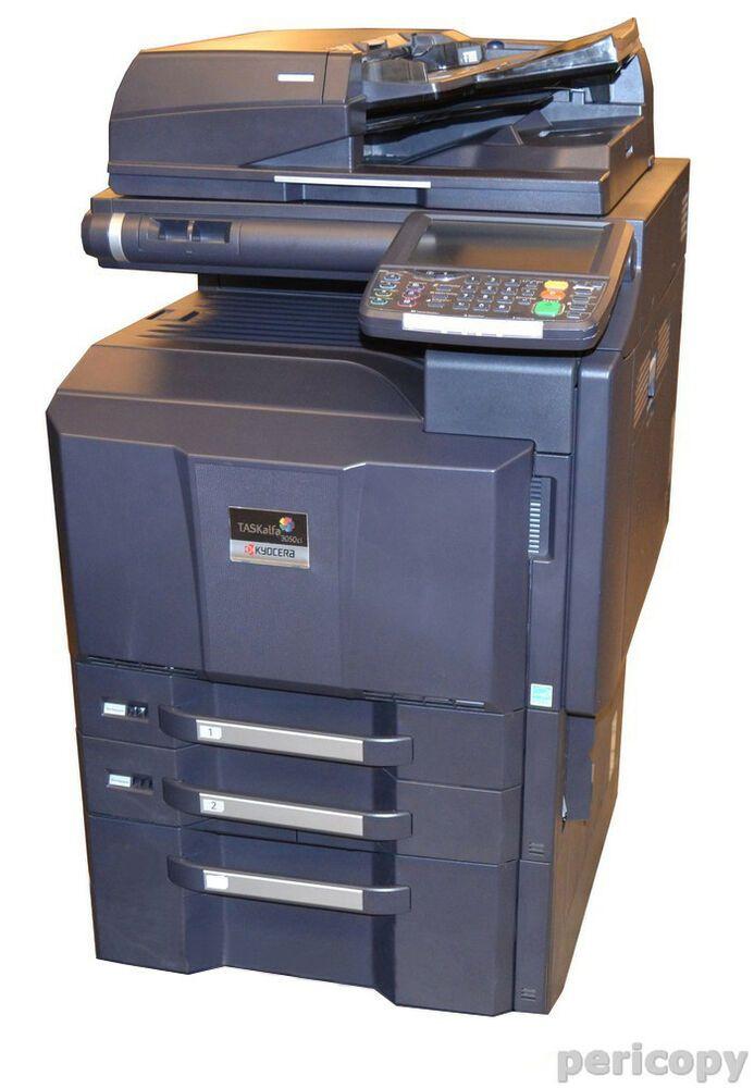 Ebay Sponsored Kyocera Taskalfa 3500i Kopierer Drucker Scanner Fax Multifunktionsgerat Kyocera Scanner