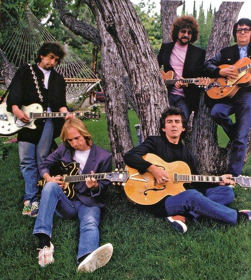 Travelling Wilburys. What an incredible mix of musicians! I'd love to have been present at their jamming sessions