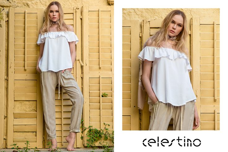 Glamorous, city chic outfit with a pair of trousers you are just going to love! #ootd #Celestino #bohemian #glam #outfits #lookoftheday