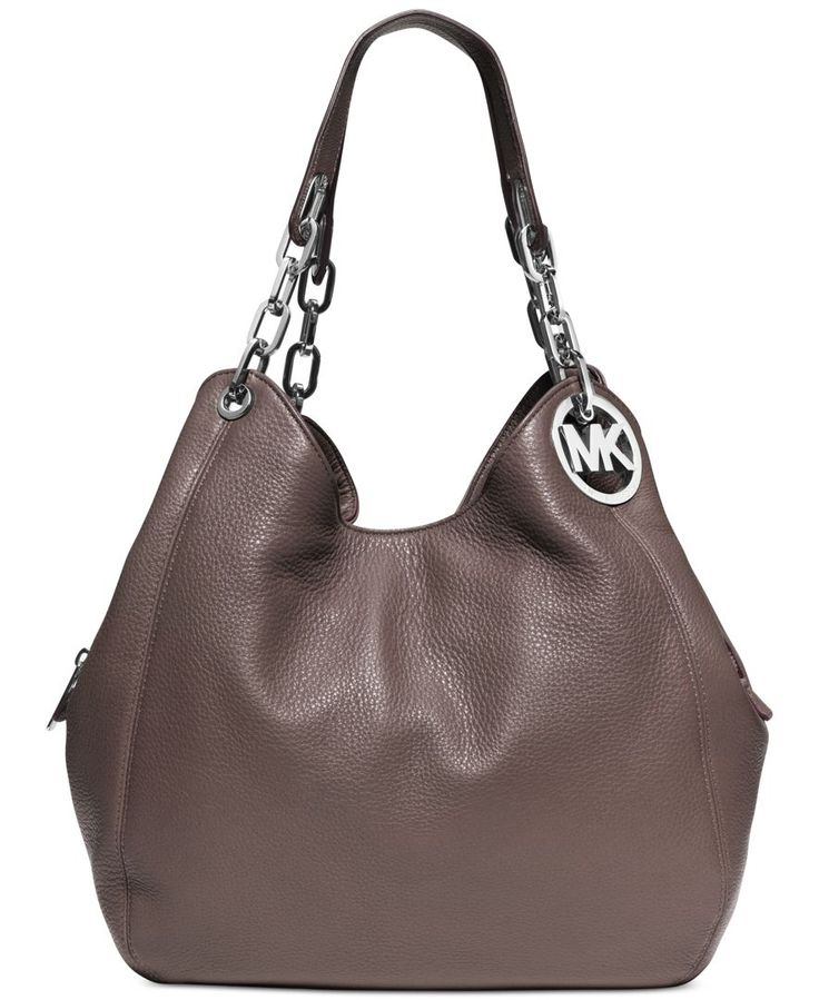 I finally got my hands on this baby :D MICHAEL Michael Kors Fulton Large Shoulder Tote - Handbags & Accessories - Macy's