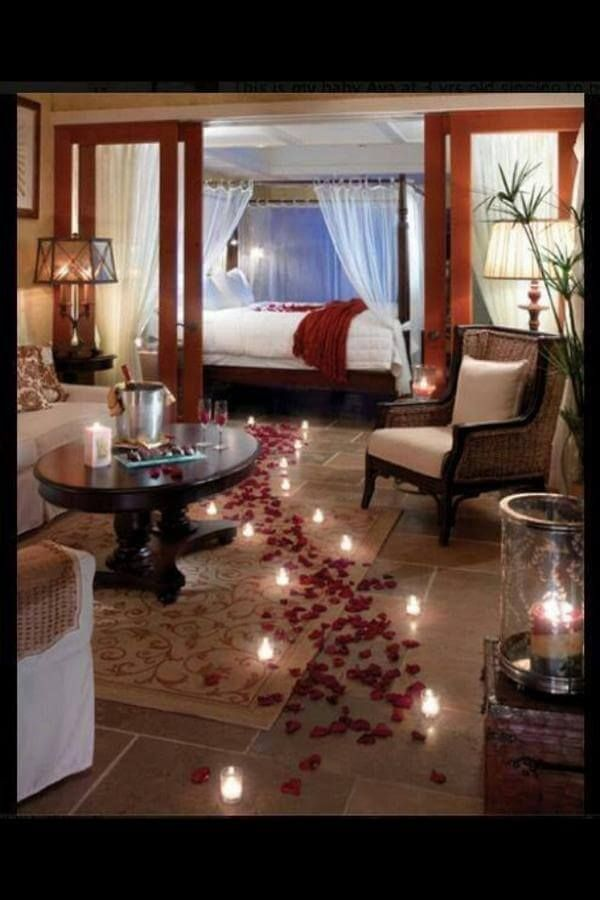 Attractive Charmante DIY Schlafzimmer Deko Ideen Zum Valentinstag Good Ideas