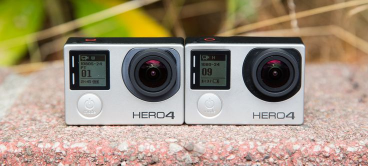 After several gagillion leaks over the last few days, they're finally here: GoPro's 2014 line of action cameras. As rumored, there are in fact three models. There's the Hero, GoPro's new entry-level camera that comes in super cheap; the Hero4 Silver, which is basically last year's best action camera plus an LCD touchscreen; and last but certainly not least, there's the Hero4 Black, which seems to demolish every other action camera out there.