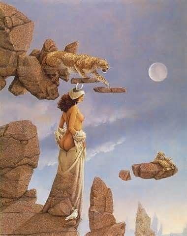 Michael Parkes - Page 4 78fdd52cdc1e9af6e7c5f1e1c18888f3--moon-goddess-fantasy-art