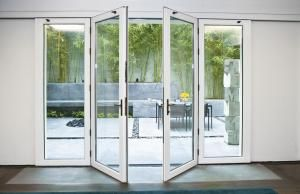 Nana Wall Systems VSW65 Single Track Sliding System with Center Swing Doors | Remodeling | Doors, Outdoor Rooms, Sunrooms, Nana Wall Systems, NanaWall