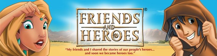 Church Bible Lessons | Children's Bible Stories | Friends and Heroes | USA and Canada Website