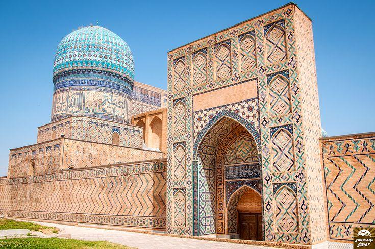 meczet Bibi Chanum, Samarkanda, Uzbekistan
