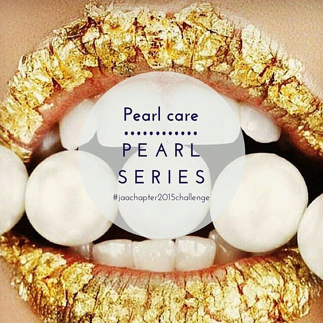 #pearlseries  Pearls are more fragile and delicate than any other gemstone or metal, they need special care to ensure they will remain clean, bright and lustrous for years to come. There are some elements that may cause harm to your pearls such as cosmetics, perfume, moisturisers and hair spray. Even acids present in the body oils and perspiration may have a damaging effect, however to ensure you get the best use of your pearls here are a few suggestions to preserve their beauty…