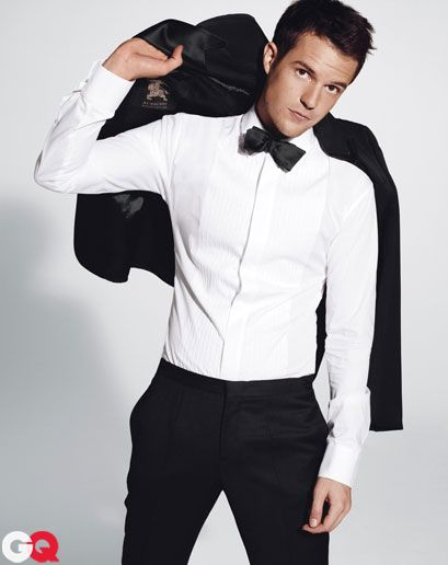 Brandon Flowers for GQ -the classic bow tie look
