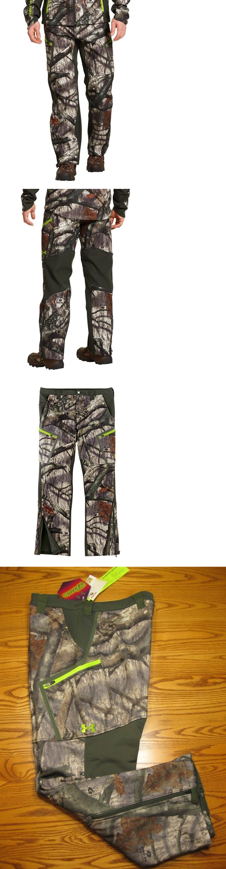 Pants and Bibs 177873: New Under Armour Infrared Storm 31 Pants Mossy Oak Camo 1250543 Mens 38 $180 -> BUY IT NOW ONLY: $59.95 on eBay!