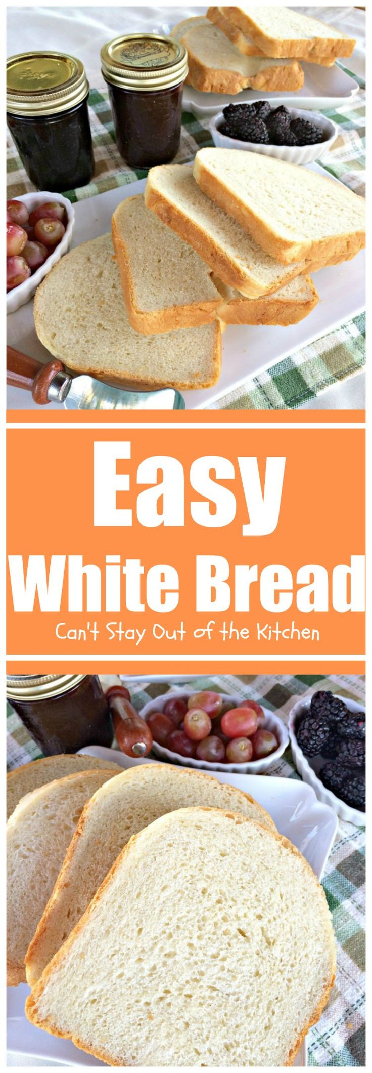 White apron brea - Easy White Bread Can T Stay Out Of The Kitchen This Easy Homemade