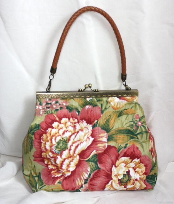 Retro Floreal handbag wedding bags