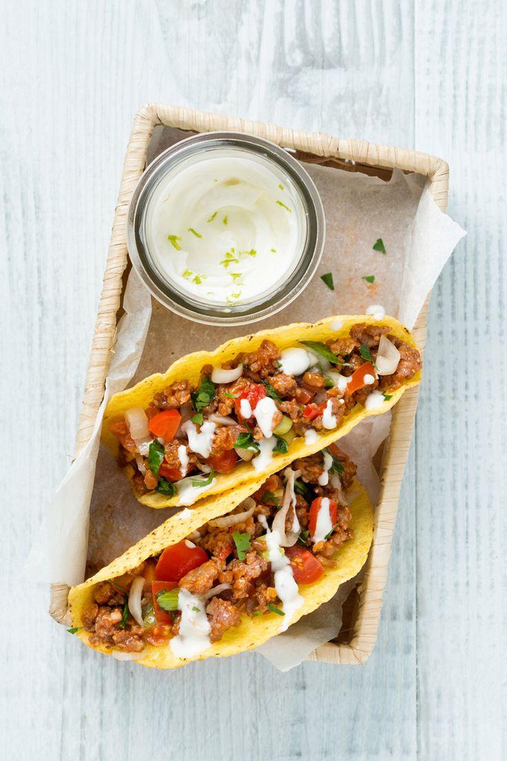 Tacos veloci: la tua cena tex-mex pronta in un lampo!  [Quick and easy tacos]