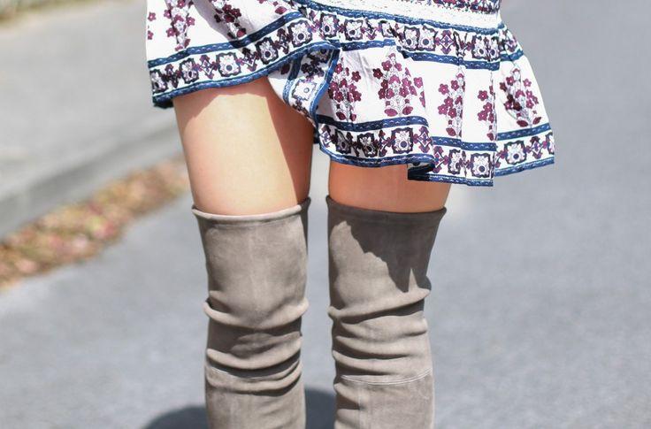 Botas over the knee #trends