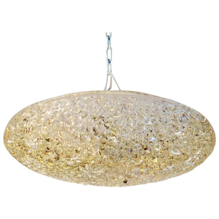 J.T. Kalmar Textured Glass Ceiling Light | From a unique collection of antique and modern chandeliers and pendants at https://www.1stdibs.com/furniture/lighting/chandeliers-pendant-lights/