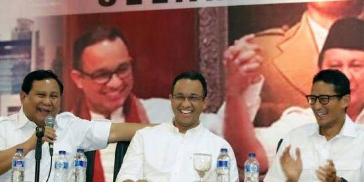 Prabowo Akan Kampanye Langsung Menangkan Anies-Sandi  KONFRONTASI - Ketua Umum Partai Prabowo Subianto selalu memantau kegiatan kampanye Calon Gubernur dan Wakil Gubernur DKI Jakarta nomor urut tiga Anies Baswedan dan Sandiaga Uno. Perasaan Prabowo bergelora dan bergejolak hebat ingin segera turun gunung melakukan kampanye akbar untuk memenangkan Anies-Sandi. Prabowo mengaku soal dana kampanye Anies-Sandi tak banyak mendapatkan sumbangan dari pihak ketiga (perusahaan). Meski hanya diusung 2…