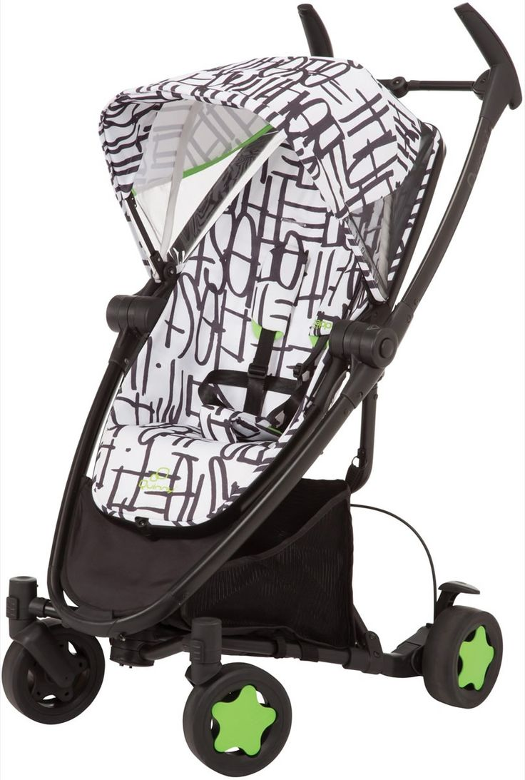 Quinny Zapp Xtra Folding Seat Stroller In Special Edition   Kenson Edition    New! With Its Sleek, Modern Design And Compact Fold With Seat Attached,  ...