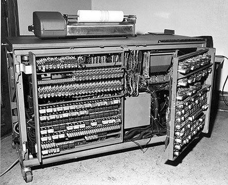 Vintage IBM Computer.