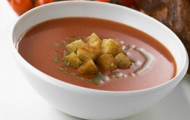 Ντοματόσουπα με γιαούρτι  - iCookGreek