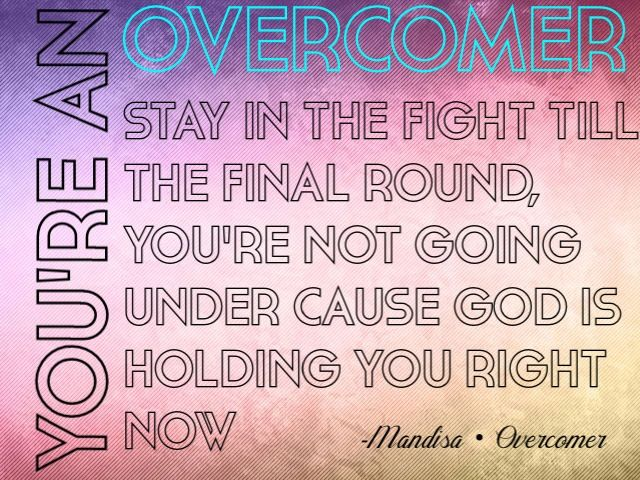 End-of-Year Message to Abuse Victims~~ You\'re An Overcomer! | The ...