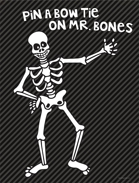 Mr. Bones game from @thecraftingchicks