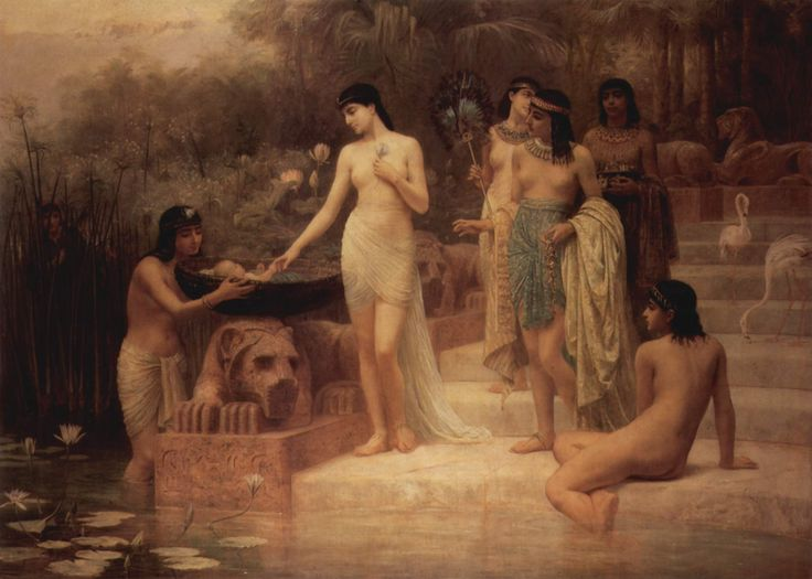The Finding of Moses by Edwin Longsden Long
