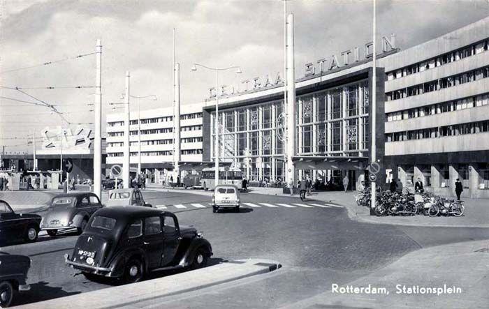 Oude station van Rotterdam