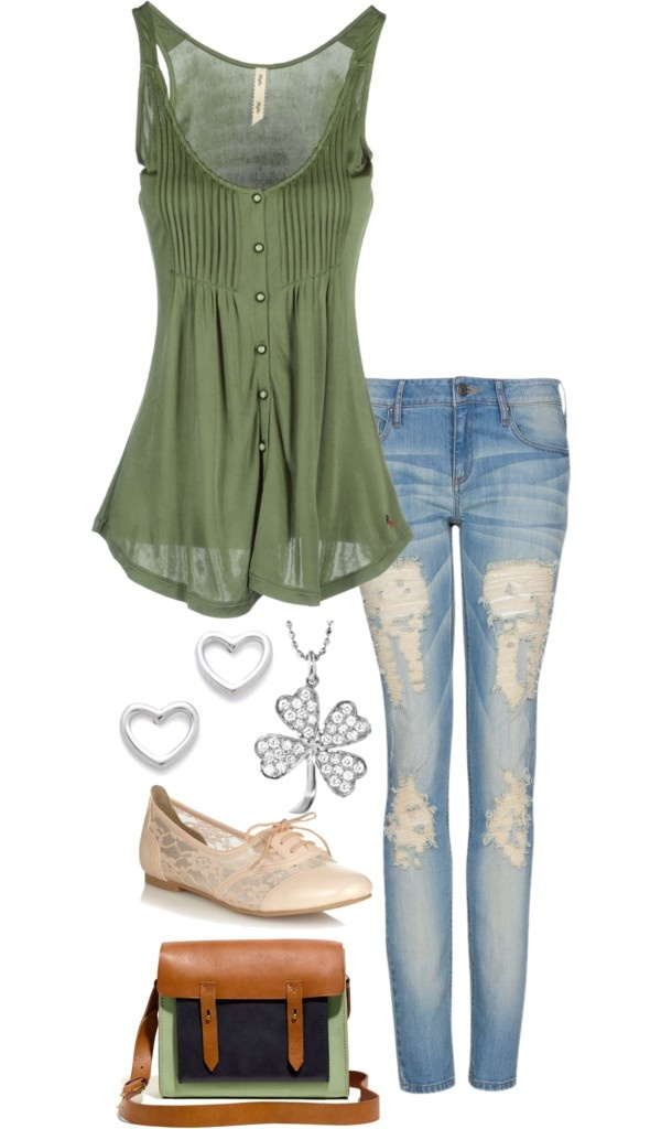 """""""Luck of the Irish"""" by eclare887 on Polyvore"""