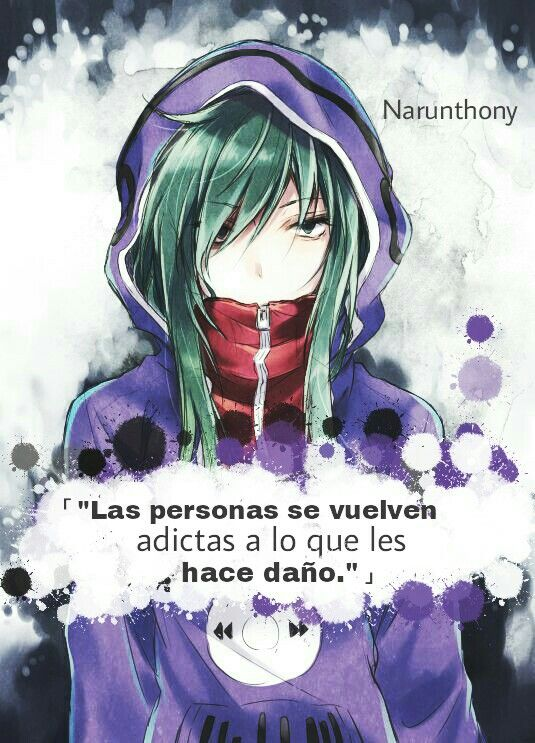 Anime | Frases | Phrases | Quotes | Frases Anime | Frases de anime | Narunthony | Mekaku City Actors | Anime Boy | Pensamientos | Letras | Desmotivaciones | Sad
