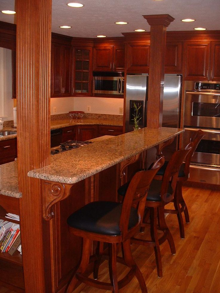 two tier kitchen island best 25 kitchen island pillar ideas on 22466