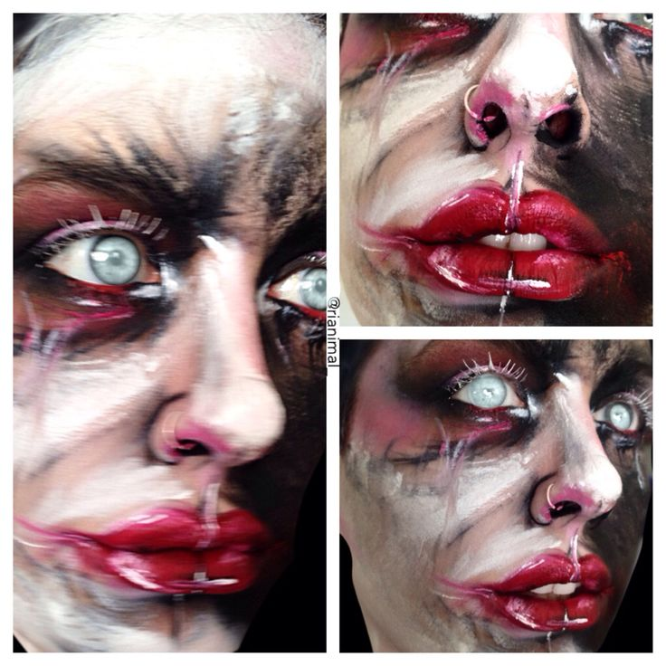 My Michael Hussar inspired makeup