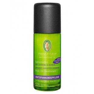 Roll-on deodorant til sensitiv hud. 100% vegansk.