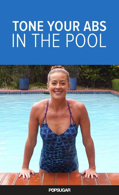 Stay Cool and Get 6-Pack Abs With Our Pool Workout | Fitnezready http://www.imuscletalk.com