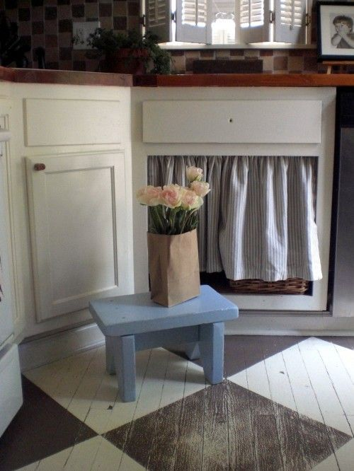 Die-Wohngalerie: Streichen Sie ihren Dielenboden - ein umwerfendes Dekor!