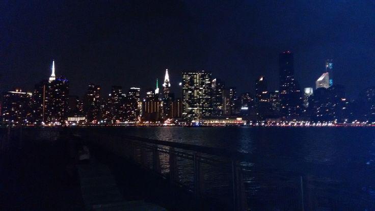 View of Manhattan, East Hudson River