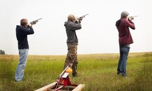 Groupon - Clay Pigeon Shooting from R180 at Earth Adventures (Up to 65% Off) in Free State. Groupon deal price: R 180